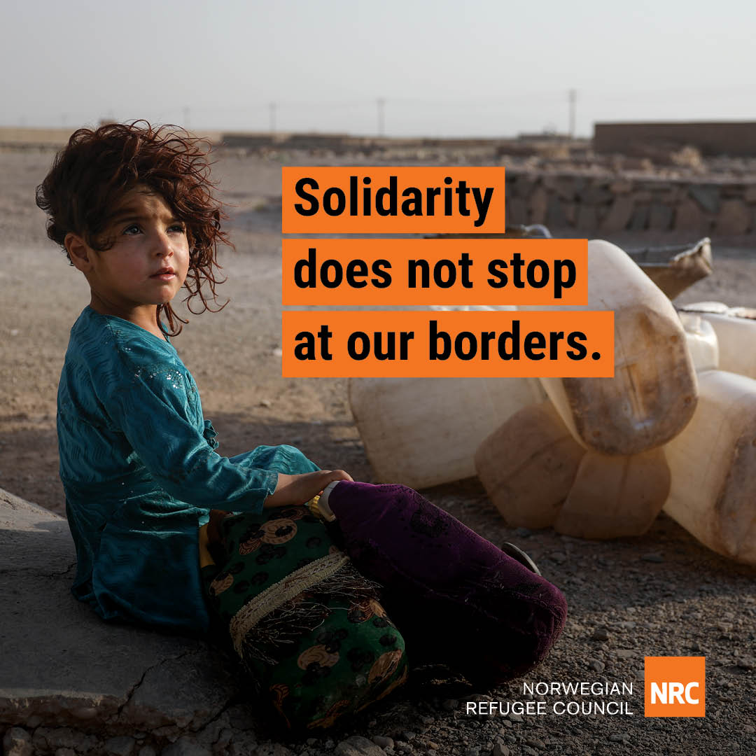 Solidarity does not stop at our border