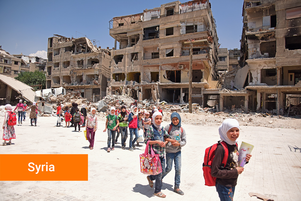 Support our work in Syria
