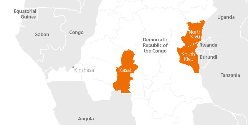 Conflict forces more people to flee homes in Congo than in Syria