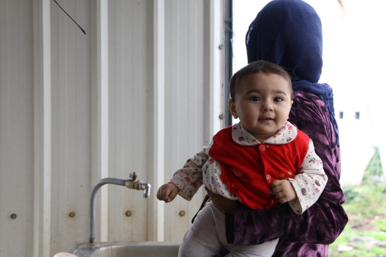 Eight years into the Syrian crisis, over 200,000 Syrian children are estimated to have been born in neighbouring Lebanon, the majority of whom have faced major obstacles in getting their births registered.   Photo: Nadine Malli/NRC